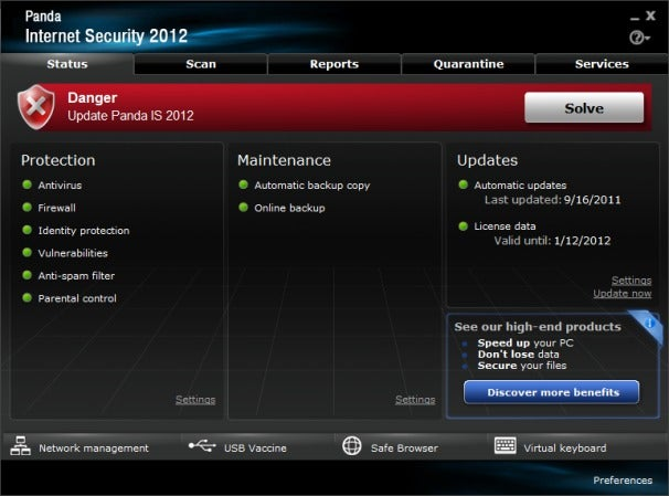 Panda Internet Security Review An Acceptable but Poky Antimalware Suite