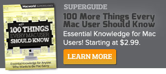 Get the NEW 100 More Things Every Mac User Should Know, and learn essential tools, tips, and tricks to help you get the most out of your Apple computer!